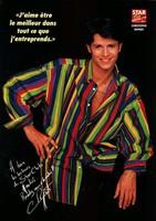 Christophe Rippert assomme l'année 1994 avec cette chemise.