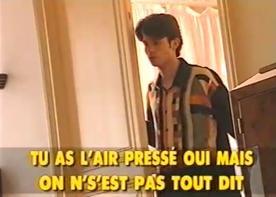 Christophe a mis un point d'honneur à sortir une K7 avec un clip pour chaque chanson de l'album. Et en a profité pour sortir ses plus belles chemises.