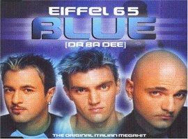 Le bleu, la couleur plus que jamais à la mode en cette fin de XXième siècle.