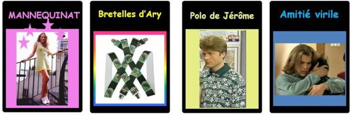 La Carte Berda « Mannequinat » fait de vous un it-boy/une it-girl. Les autres joueurs peuvent tenter de vous faire chuter de votre piédestal en utilisant des Cartes Décor comme « Bretelles d'Ary » ou « Polo de Jérôme », mais une bonne utilisation de Cartes Décor comme « Amitié Virile » pourra vous sauver.