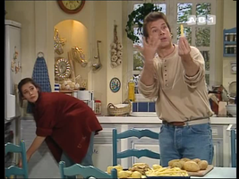 Phil, le genre de taré à parler à une frite.