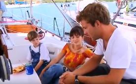 """Vacances gratos pour """"Gédéon"""" en compagnie de Patrick et Isabelle."""