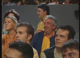 Le papa de Florian Gazan a du bien se poiler tout au long de l'émission à voir son fils se foutre de sa gueule !