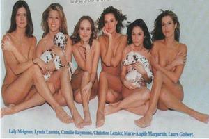 Les stars AB et assimilées, posant nues pour la PETA.