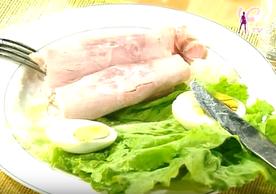 """Allez, une bonne salade """"régime Laly"""" pour terminer l'article."""