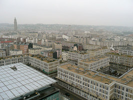 Le Havre, ville natale d'Anthony Dupray.