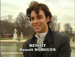 """""""Mon fut' en cuir me manque"""" semble se demander intérieurement Benoît."""