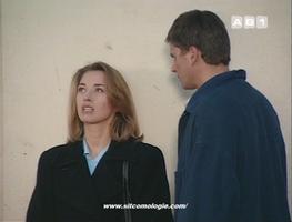 Virginie et Sébastien dans une scène du... Miracle de l'Amour.