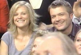 Fabien et Camille chez Delarue, en mars 2006.