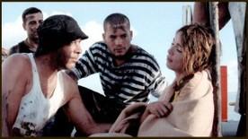 Fred Beraud Dufour, son bob et une Hélène ravie d'être de retour chez JLA Productions.
