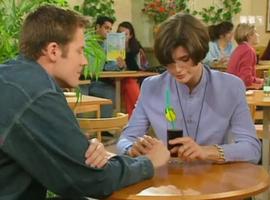 """Laly et son """"petit copain gay"""" Jimmy."""
