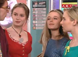 Seule Céline Sauvage a su tirer son épingle du jeu aux côtés d'Isabelle.