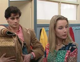 Isabelle et Jean-François,, le duo le plus malsain de la sitcom.