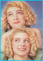 Pas évident de reconnaître qui est qui entre les deux sœurs merengues.