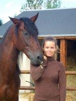 Manuela, une passion à jamais éprouvée pour les chevaux.