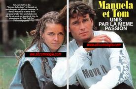 Trois mois plus tard, AB tentera le coup avec Manuela et Tom...