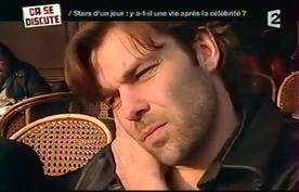 Patrick traîne son spleen dans les médias. Ici, chez Delarue en 2006.