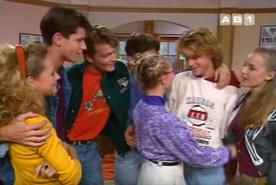 Qui se souvenait à l'époque de cette scène qui semblait intégrer Bruno à la bande de Premiers Baisers ?
