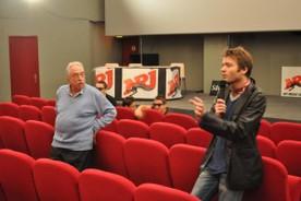 """Spiero et son """"élève"""" Fabien. Depuis, l'ex-Jérôme est devenu lui-même réalisateur."""